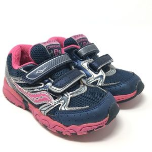 SAUCONY cohesion toddler girls sneakers shoes sz 7